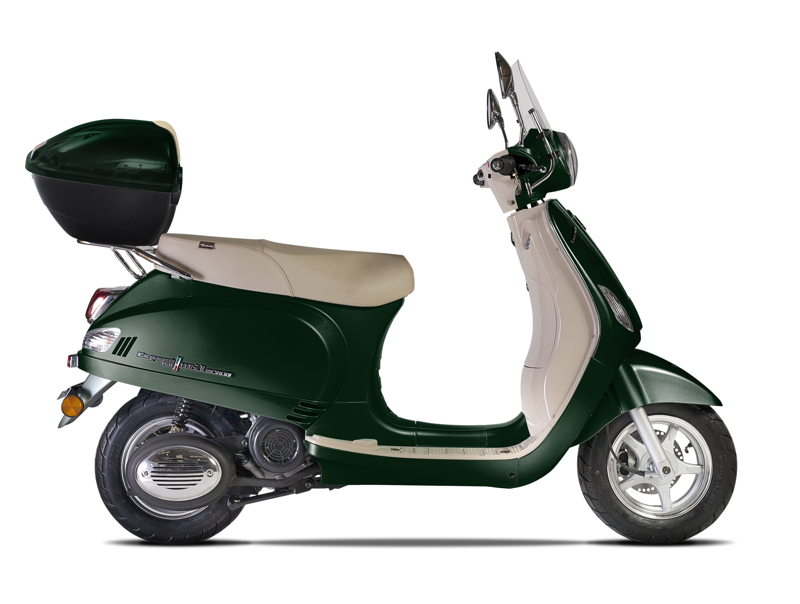 Corven Motos, Lanza el Expert Milano ahora con un baúl trasero!