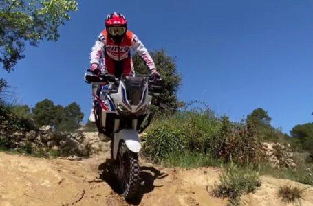 Toni Bou prueba la Honda Africa Twin 2021